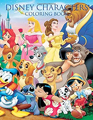 780+ Coloring Book Of Disney Characters Picture HD