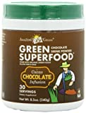 Amazing Grass – Green SuperFood Drink Powder 30 Servings Cacao Chocolate Infusion – 8.5 oz.