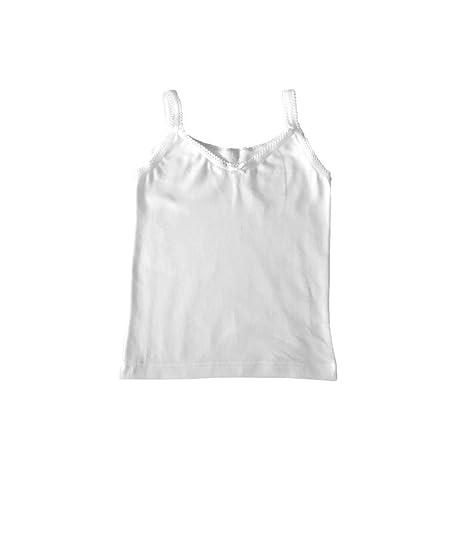 nueva colección de06d 7a0be Camiseta interior niña Rapife (4, Blanco): Amazon.es: Ropa y ...