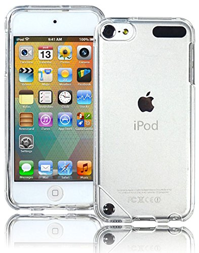 Bastex Clear Snap on Design Shell Cover for Apple iPod Touch 5th Generation -