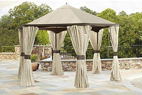 (Garden Oasis Replacement Canopy Top Hexagonal Gazebos )