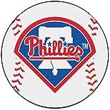 """MLB - Philadelphia Phillies Baseball Mat 27"""" diameter"""