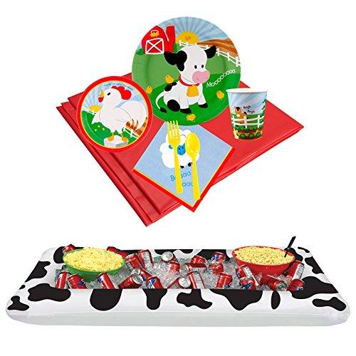 (BirthdayExpress Barnyard Party Supplies Tableware Drink Cooler)