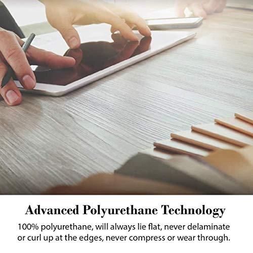 """Alfombra antifatiga original WellnessMats - Comodidad y soporte - Antideslizante, No tóxico - 2'x3'x3 /4 """"Negro"""
