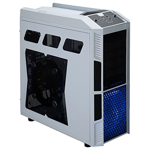Rosewill Gaming ATX Full Tower Computer Case Cases THOR V2-W Black, white by Rosewill (Image #1)