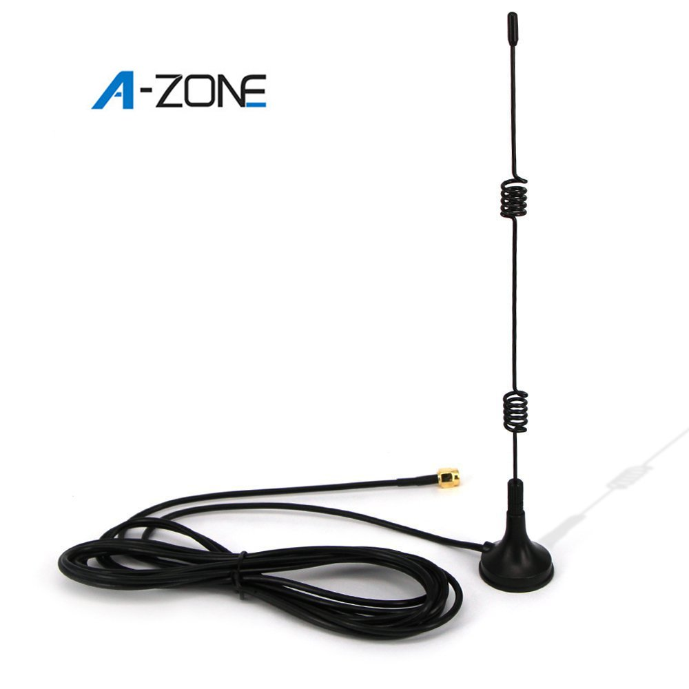 A-ZONE Wireless Security Camera Video Antenna Extension,Just for A-ZONE Security System Using Black