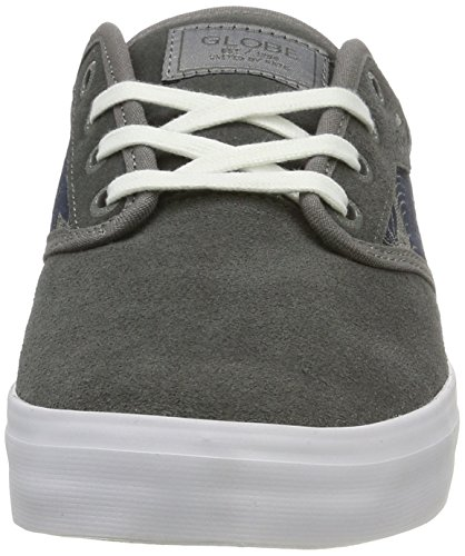 de Skateboard Palms Chambray Homme Chaussures Charcoal Motley Globe Gris qE6Hfpt