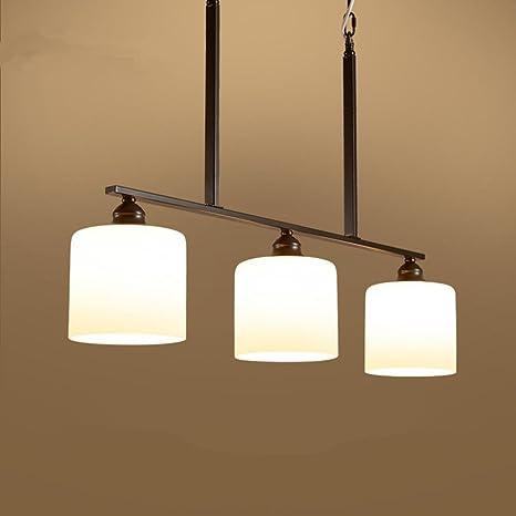 Lámpara de techo de luz de techo de diseño moderno E27 × 3 ...