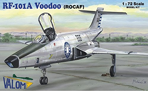 - RF-101A Voodoo in Chinese Air Force (1/72 model kit, Valom 72115)