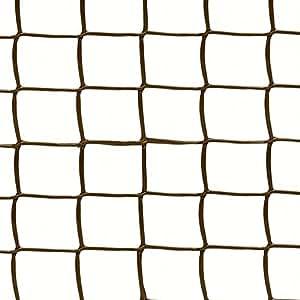 Marrón 19mm 0,5M x 5m malla de jardín valla de enrejado de plástico soporte para plantas trepadoras