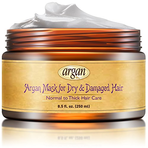 Vitamins Dry Damaged Hair Deep Conditioner Mask - Normal to Thick Hair Care...