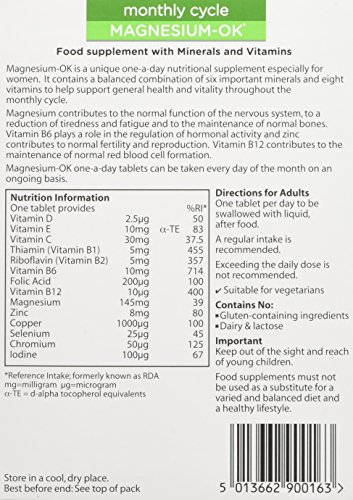 Wassen-We-Support-Monthly-Cycle-Magnesium-OK-90-Tablets