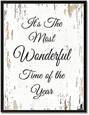 Amazon Com It S The Most Wonderful Time Of The Year Christmas Quote