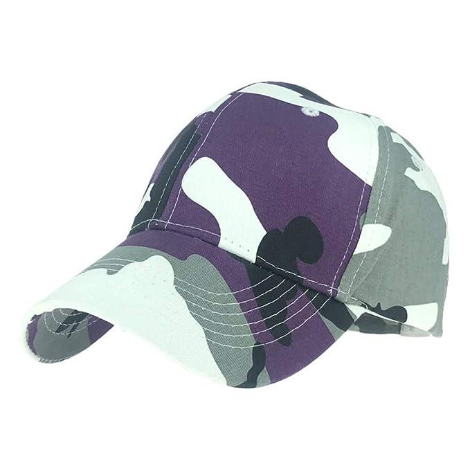 sdssup Gorra de béisbol de Camuflaje Gorra de protección Solar ...