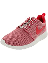 Nike Womens Rosherun Lt Base Grey/Grnm/Smmt Wht/Vlt Running Shoe 9.5 Women US