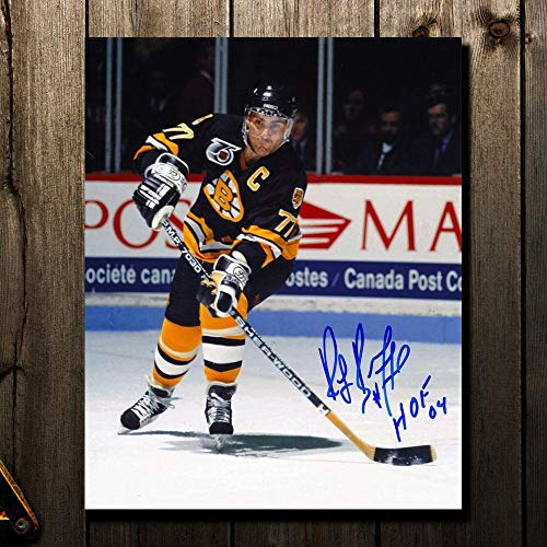 Ray Bourque Signed Photograph - HOF PASS 8x10 - Autographed NHL Photos