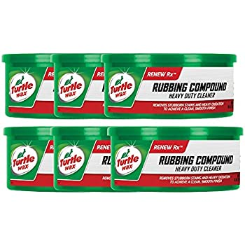 Turtle Wax Rubbing Compound (10.5 oz.) - Pack of 6