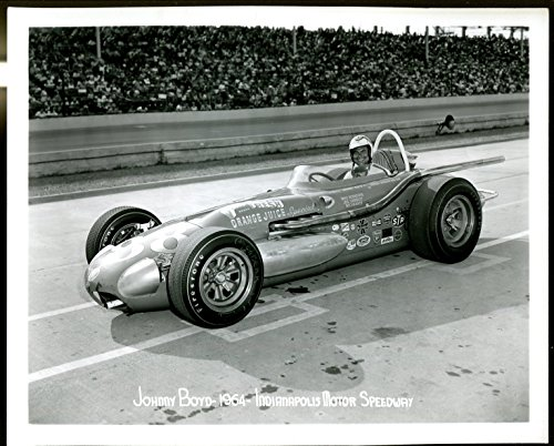 Indianapolis Motor Speedway Official 8 X 10 Indy 500 Photo-1964-Johnny Boyd-FN