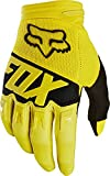 Fox Racing Dirtpaw Race Youth Boys Off-Road Motorcycle Gloves - Yellow / Large