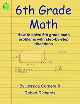 Amazon.com: 6th Grade Math Study Guide eBook: Jessica Corriere ...