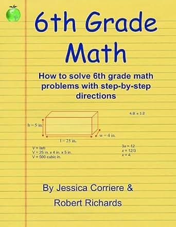 Amazon 6th Grade Math Study Guide EBook Jessica Corriere
