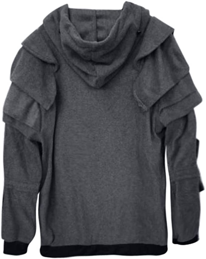 ONTBYB Mens Slim Fit Print Lightweight Long Sleeve Pullover Hooded Sweatshirt