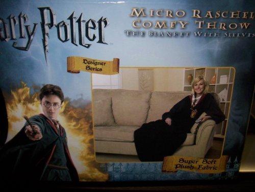 Harry Potter Micro Rashel Comfy Throw Blanket with (Harry Potter Robe Adult Comfy Throw)