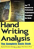 Handwriting analysis the complete basic book by karen amend