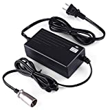 LotFancy 36V 1.5A 1500mA Electric Bike Motor Scooter Battery Charger Power Supply Adapter For Razor MX500 Dirt Rocket Schwinn ST1000 X-Treme X-600 Mongoose M750 IZIP I750 IZIP I600 GT GT750