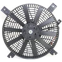 MAPM Premium VITARA 99-01 A/C FAN SHROUD ASSEMBLY, Denso type; Rectangular Plug, 11 Blades