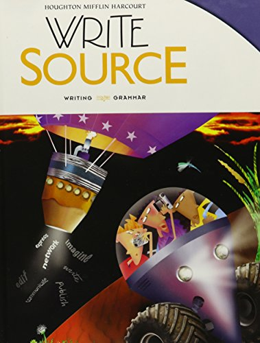 Write Source: Student Edition Hardcover Grade 8 2012 (Pc Source)
