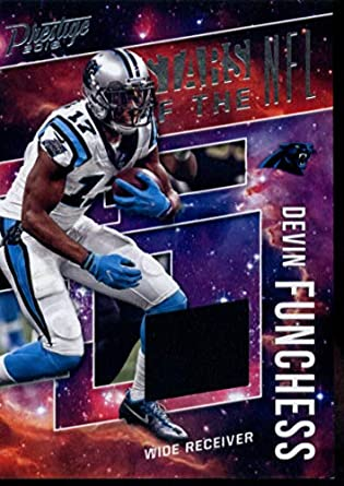 2018 Prestige Stars of the NFL Jerseys  ST-DF Devin Funchess Carolina  Panthers Football 1ca3d46f7