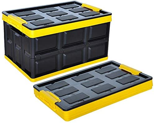 カーオーガナイザートランク カーオーガナイザー - トランクストレージトランクオーガナイザーウィルはあなたに可能な限り最も収納スペース、使用それとして、AバックシートStorageCarカーゴオーガナイザーと無料あなたのトランクフロアを提供します -カーアクセサリー (Size : 42x28x23.5cm-30l-b)