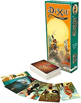 Asterion 8009 - Orígenes Dixit (Dixit 4) edición Italiana: aa.vv.: Amazon.es: Juguetes y juegos