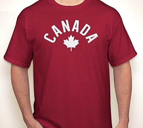 CANADA ARCH MAPLE LEAF | T-shirt S-6XL Maple Arch