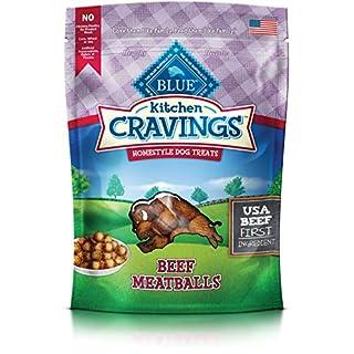 Blue Buffalo Kitchen Cravings Beef Meatball Dog Treats 6-Oz