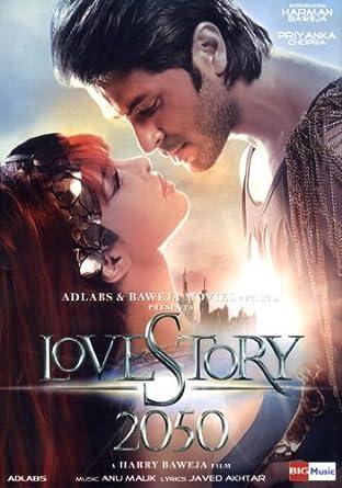 Amazon Com Love Story 2050 Hindi Film Bollywood Movie Indian Cinema Dvd By Priyanka Chopra Harsh Vasishtha Mehezabeen Sarela Karan Verma Boman Irani Harman Baweja Movies Tv
