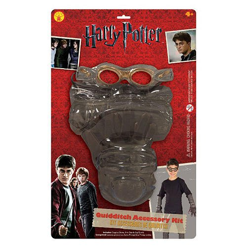 Harry Potter Quidditch Goggles (Quidditch Kit Child Costume Accessory)