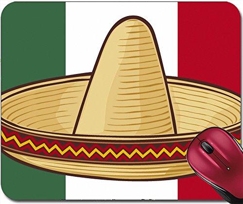 Coastal Sombrero Hat - Liili Mousepad IMAGE ID: 16081644 mexico flag sombrero mexican hat
