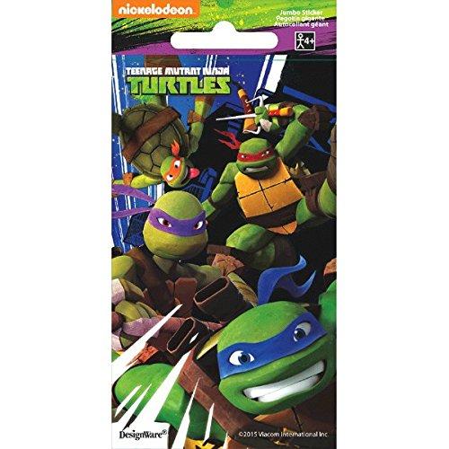 - Teenage Mutant Ninja Turtles Jumbo Sticker   Party Favor