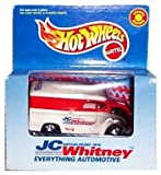Hot Wheels - JC Whitney Special Edition - White, Red and Black Delivery Van - 1:64 Scale