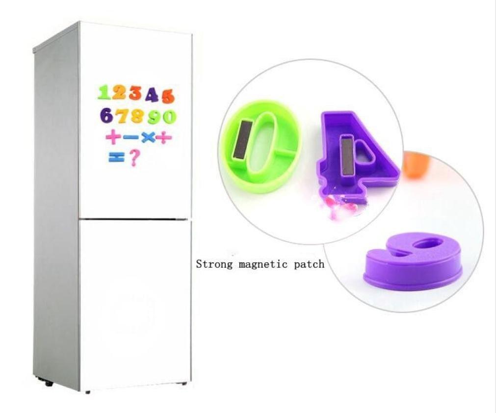 Pegatinas de pared Conjunto de 26 n/úmeros magn/éticos de ense/ñanza coloridos alfabeto de imanes de nevera para Refrigerador Xinantime