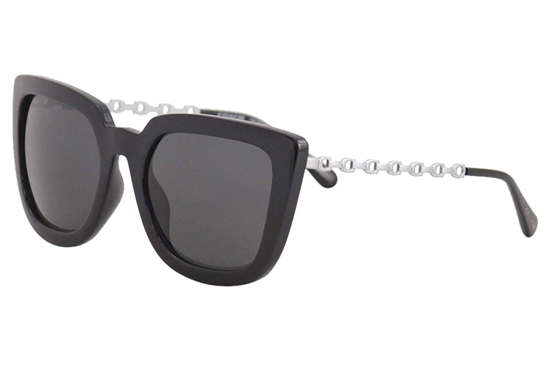be2aa05e733c Amazon.com: Coach Womens Sunglasses Black/Grey - Non-Polarized - 56mm:  Clothing
