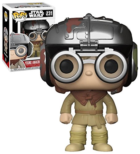 Price comparison product image Funko POP! Star Wars: Young Anakin Skywalker Exclusive 231