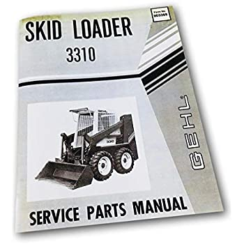 Amazon com: Gehl 4000 Hl4300 Hl4500 Hl4600 Hl4700 Skid Steer Loader