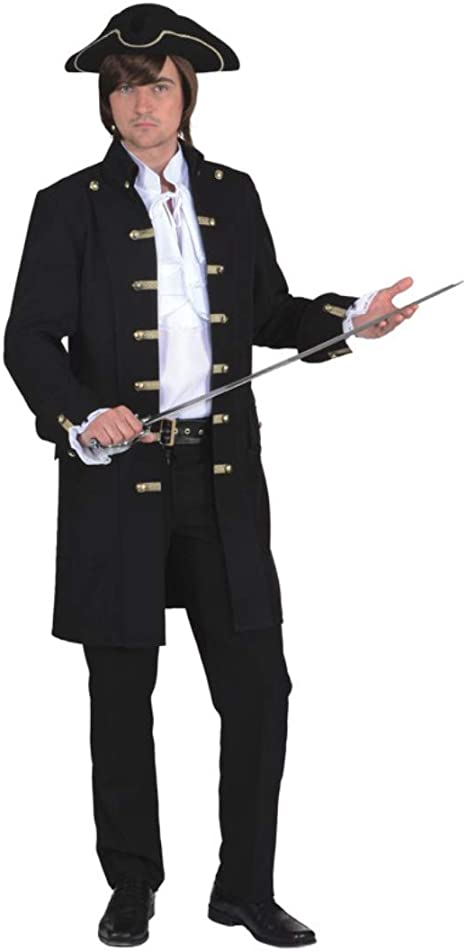 ORLOB KARNEVAL GmbH Disfraz de pirata para hombre Disfraz de ...