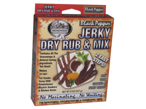 Smokehouse Products Black Pepper Jerky Mix ()