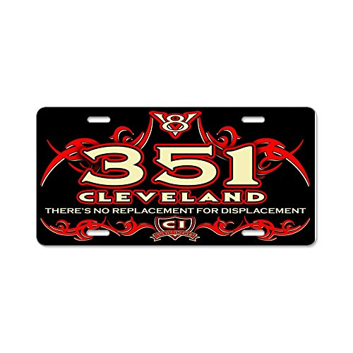 CafePress - 351 Cleveland - Aluminum License Plate, Front License Plate, Vanity Tag