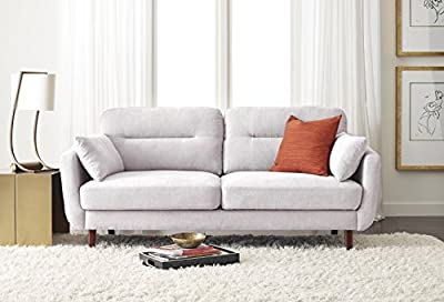 "Serta Sierra Collection Sofa, 73"", Ivory"