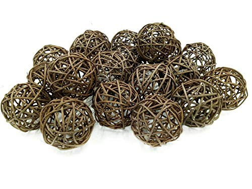 Outdoor Wicker Ball Lights in US - 2